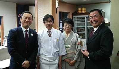 JAL✈大西会長と、三重県知事