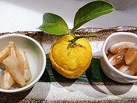 土日祝日柚子昼膳